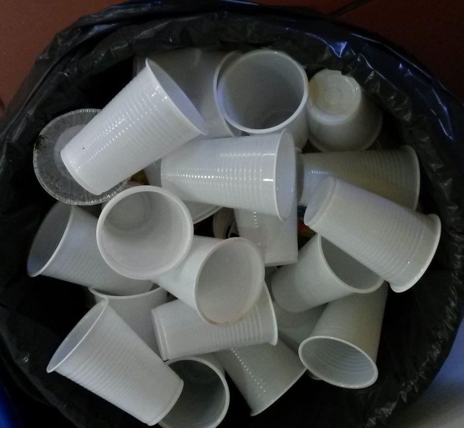 Plástico descartável não é sustentável