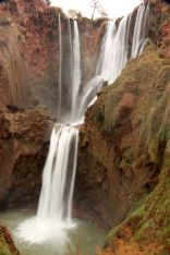 Ouzoud, Morocco: plastic waterfalls and olive farms