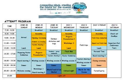 Programa conferencia ASPEA