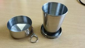 Alternativa aos copos descartáveis: fácil de transportar e mais ecológico