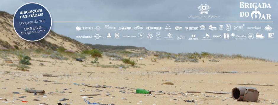 Limpeza da costa de Grândola pela Brigada do Mar 2017