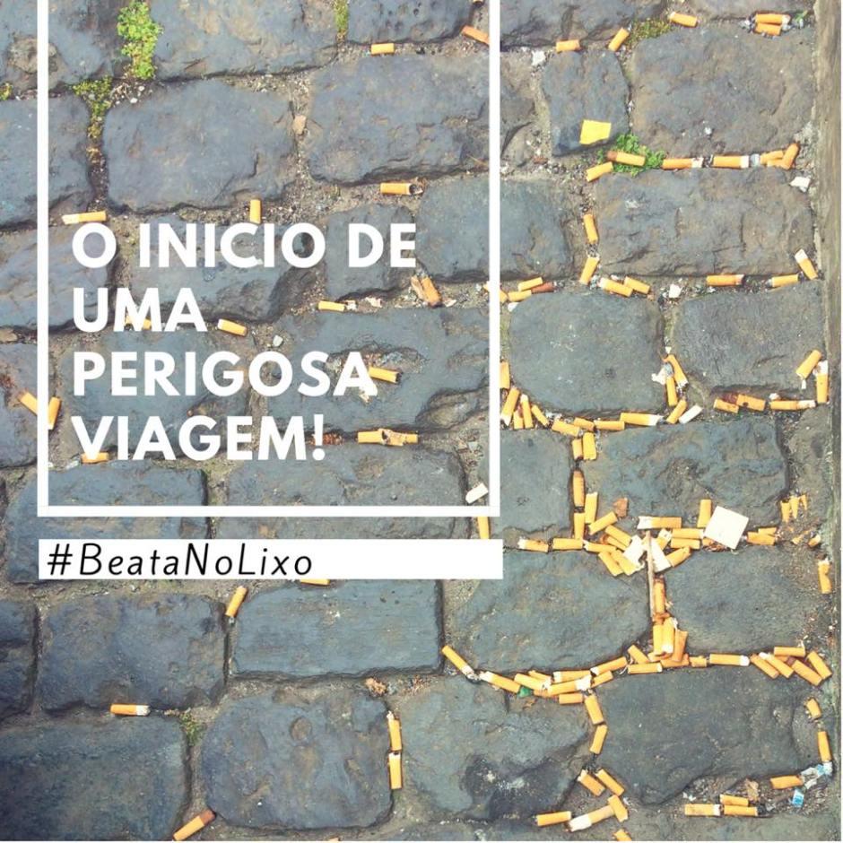 #BeataNoLixo
